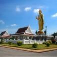 พระพุทธรูปปางห้ามญาติองค์ใหญ่ที่สุดในภาคใต้ หล่อด้วยทองเหลืองบริสุทธิ์ ขนาดองค์พระ มีความสูง 19.90 เมตร ความสูงรวมฐาน 25 เมตร น้ำหนัก 200 ตัน